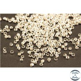 Perles à écraser - 1,5 mm - Argenté