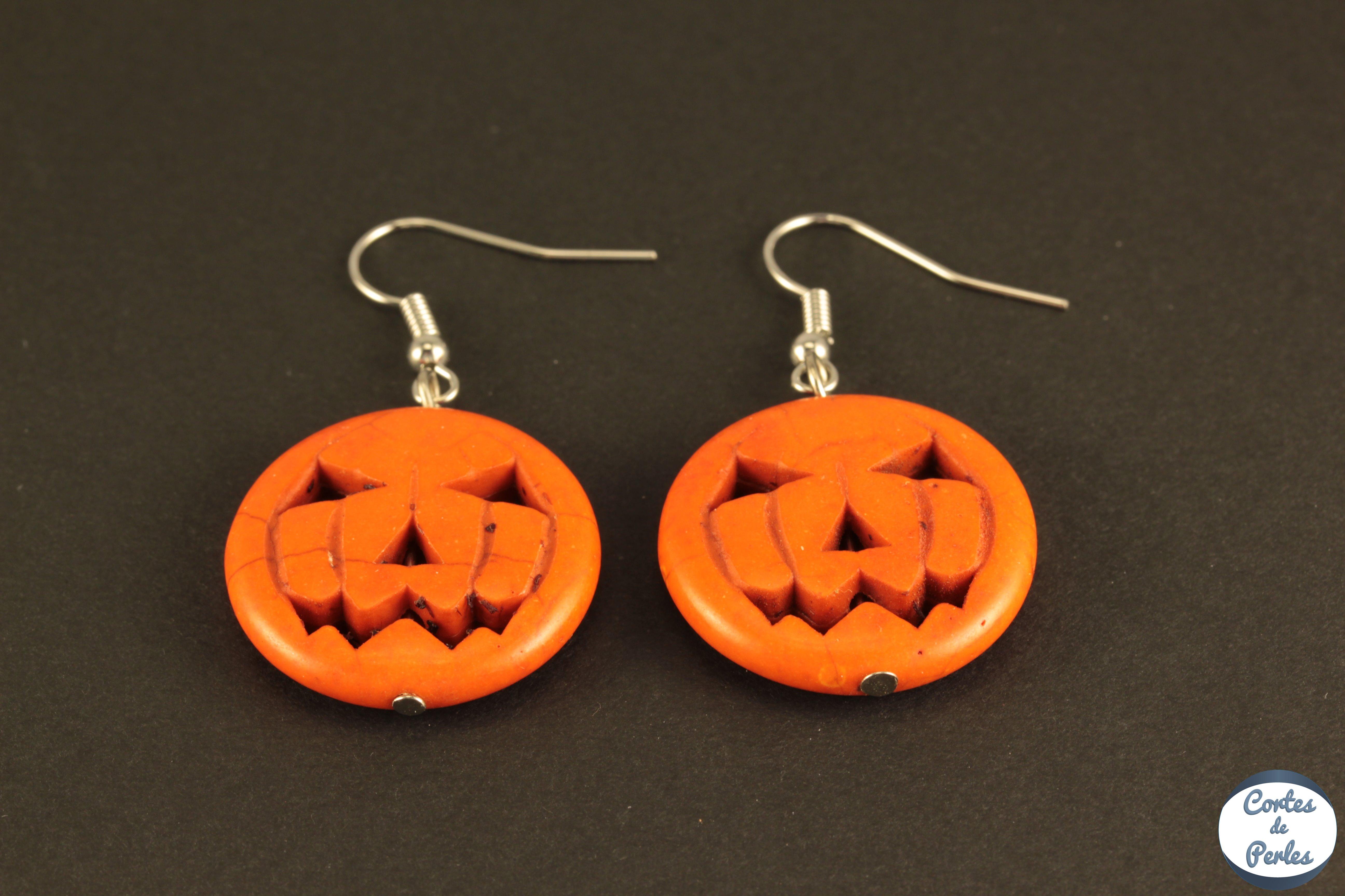 Boucles Grossiste De 5 D'oreilles Paires Lot Halloween hQdtrsC