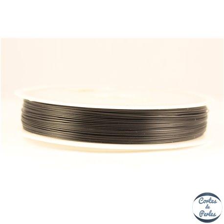 Fil cablé - 0,50 mm - Noir