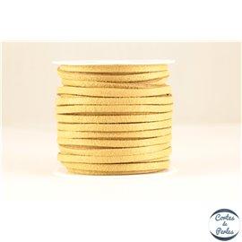 Cordon suédine - 3 mm - Beige