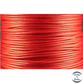 Bobine de fil élastique - 1 mm - Rouge