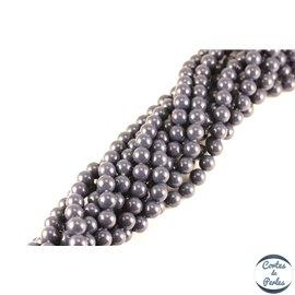 Perles de Majorque - Ronde/ Ø 8 mm - Bleu