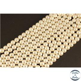 Natural Nangka bois perles rondes diverses tailles