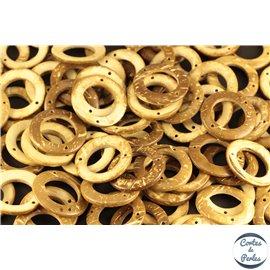 Perles en coco - Cercles/30 mm