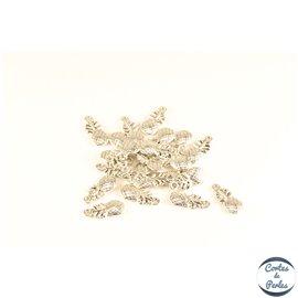 Lot de 20 pendentifs en métal - Ananas/20 mm - Argentés
