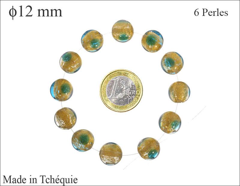 UK boutique  * 9006 Perles Verre Tchèque Rondelles 7x11mm