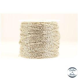 Chaîne mailles croisées - 1,5mm