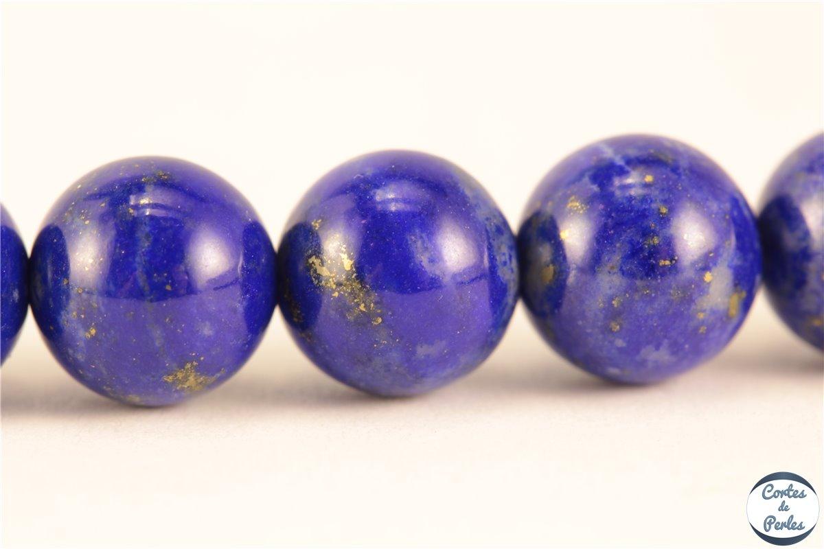 grossiste perles semi pr cieuses en lapis lazuli rondes 7 mm pas cher. Black Bedroom Furniture Sets. Home Design Ideas