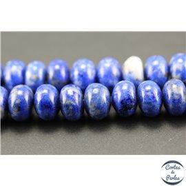 Perles en lapis lazuli d'Afghanistan - Roues/8mm - Grade AB