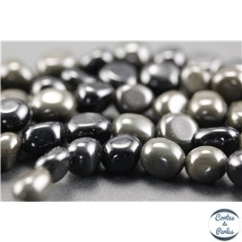 Perles en obsidienne - Nuggets/8 - 10mm
