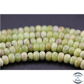 Perles semi précieuses en péridot - Roues/6 mm - Vert jaune