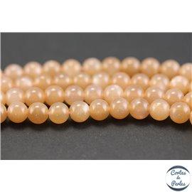 Perles en pierre de Soleil - Rondes/6mm - Grade AAA