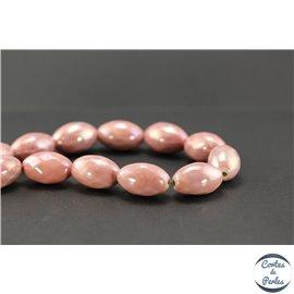 Perles en céramique - Olives/26 mm - Rose