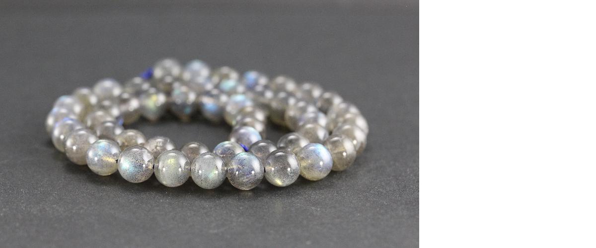 Perles en labradorite