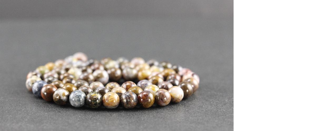 Grossiste perles en pietersite