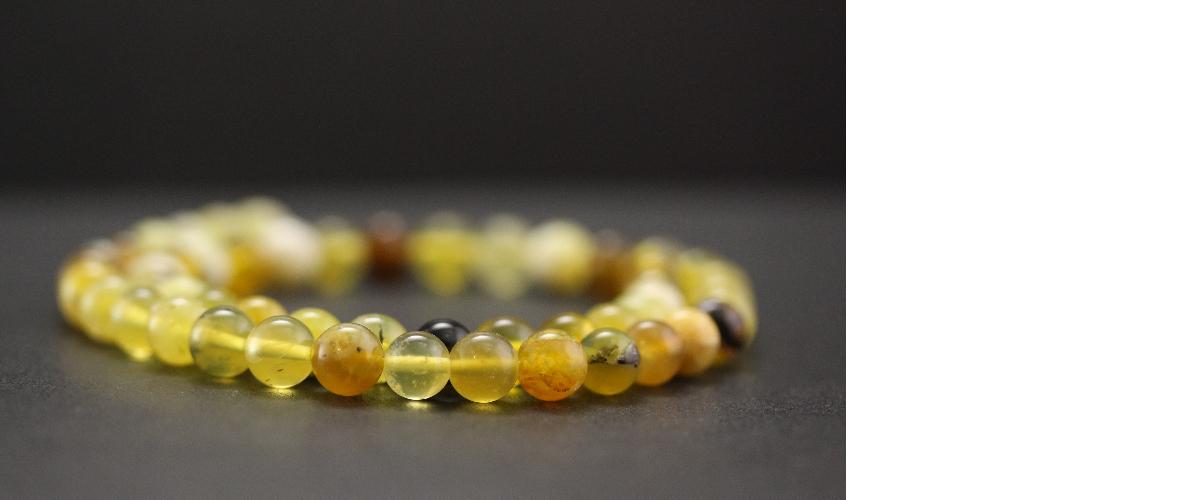 Perles en opale