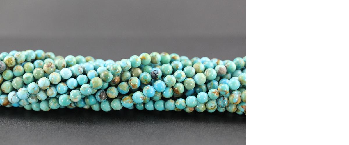 Grossiste perles en turquoise d'Arizona