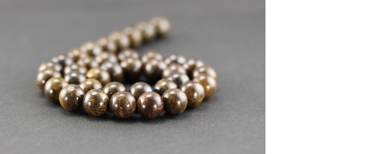 Grossiste perles en bronzite