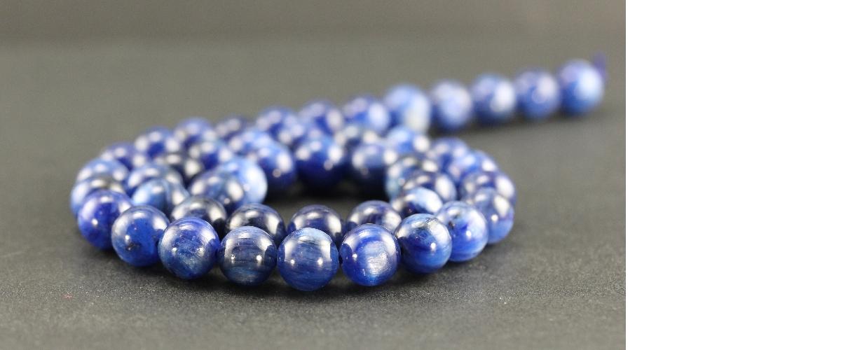 Grossiste perles en cyanite