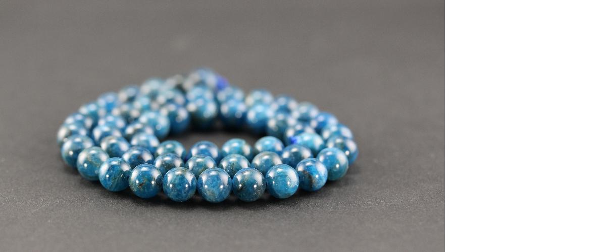Grossiste perles en apatite