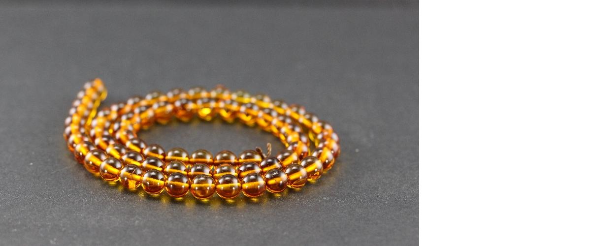 Grossiste perles en ambre naturel de la Baltique