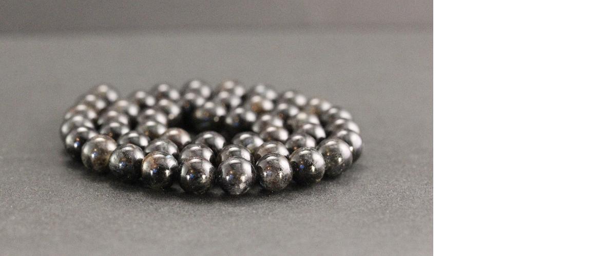 Perles en astrophyllite