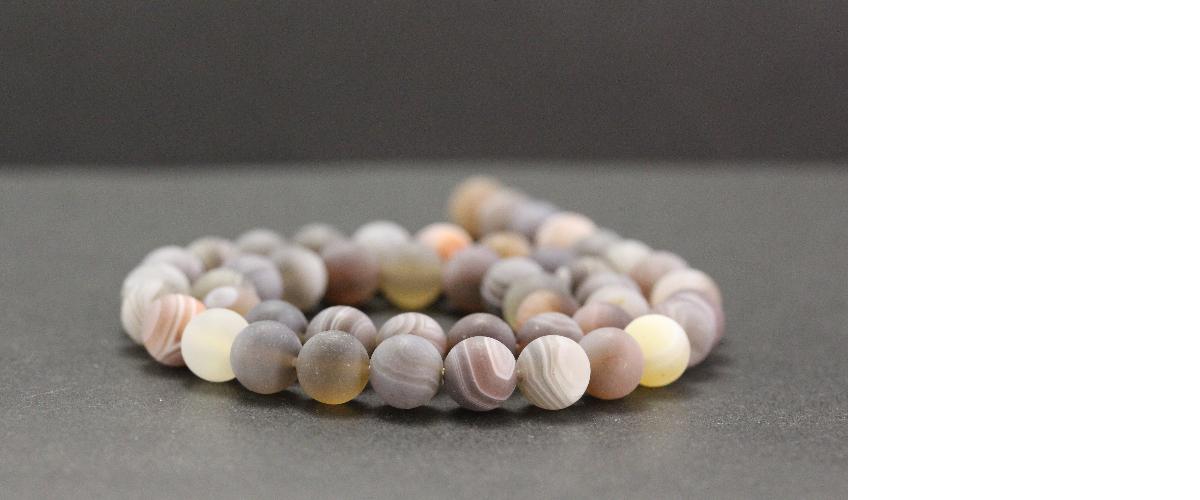 Perles dépolies