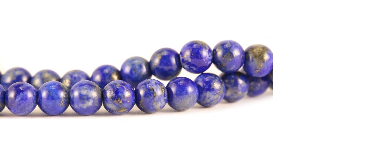 Grossiste perles en lapis lazuli