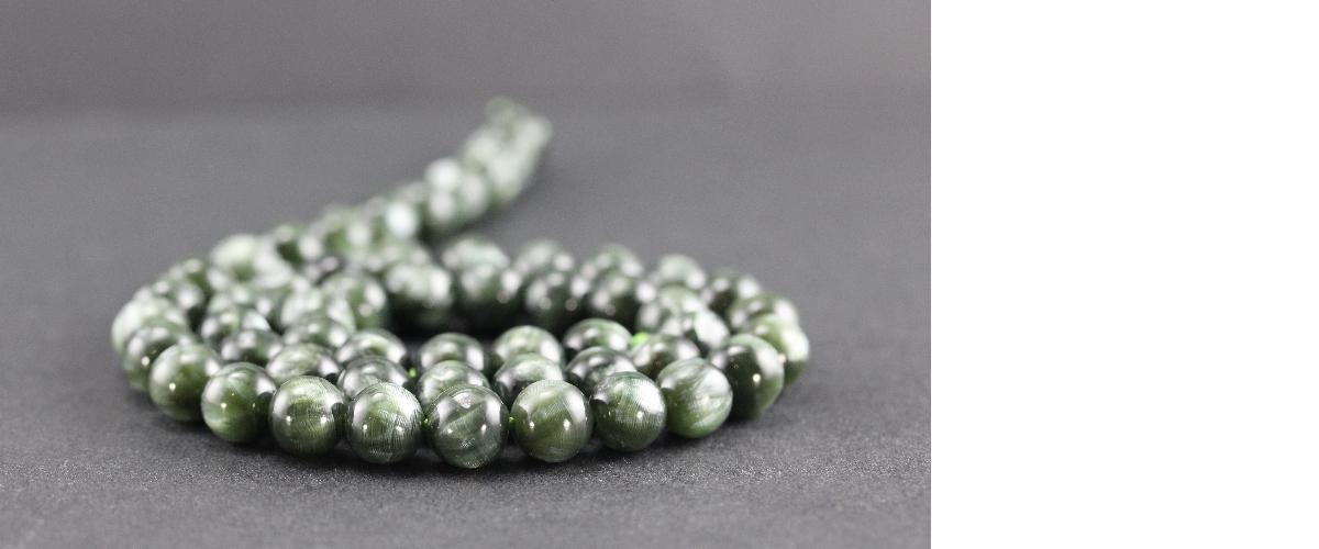Grossiste perles en séraphinite