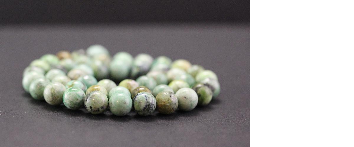 Perles en variscite