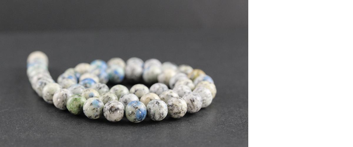 Perles en jaspe K2