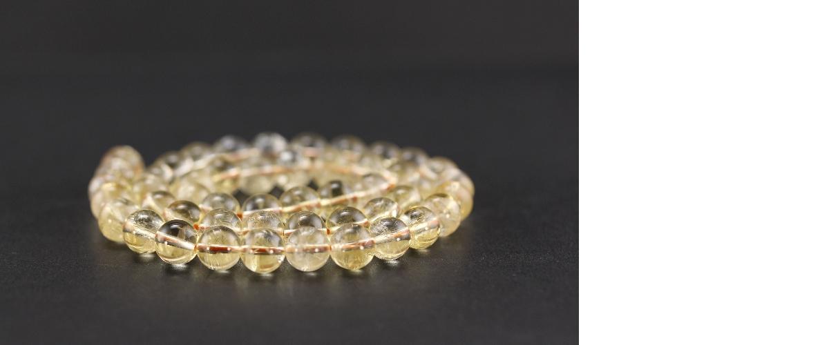 Grossiste perles en citrine