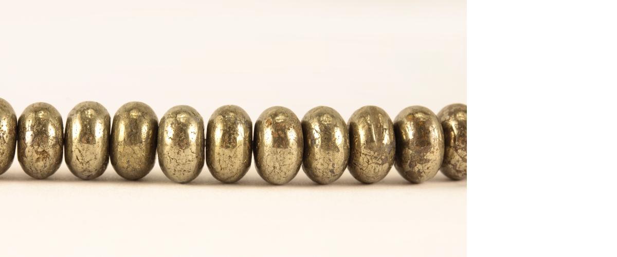 Grossiste perles en pyrite