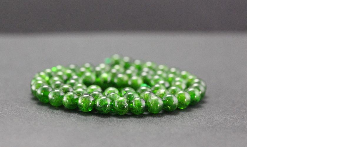 Perles en diopside