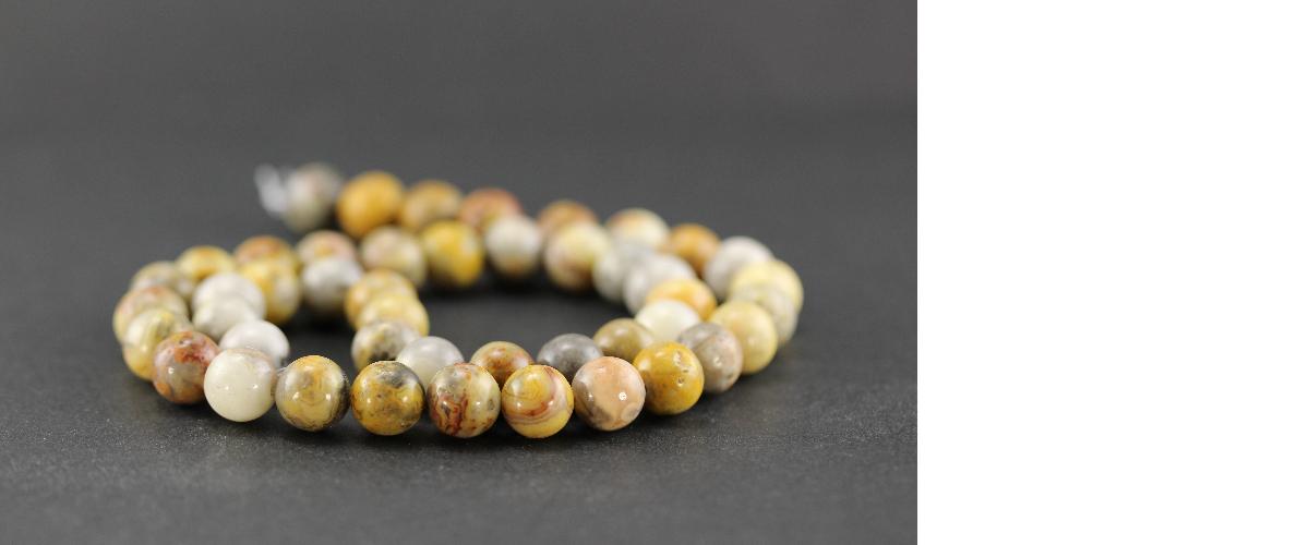 Perles en agate
