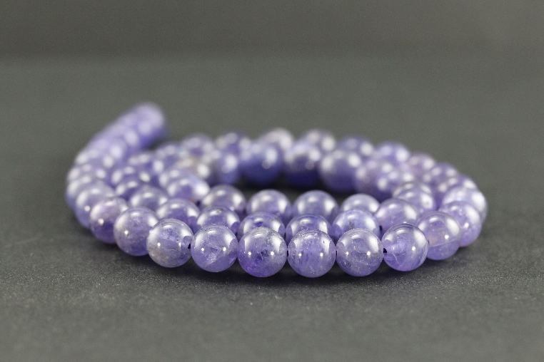 Grossiste perles en tanzanite