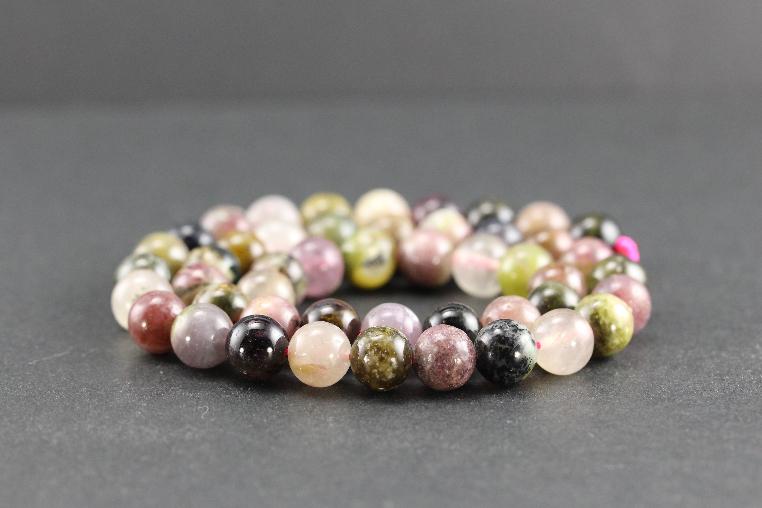 Perles en tourmaline