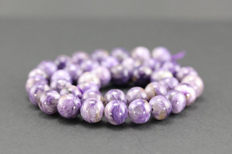 Grossiste perles en charoïte