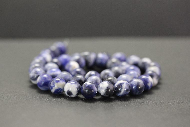 Perles en sodalite