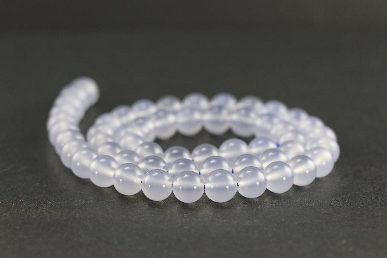 Grossiste perles en calcédoine
