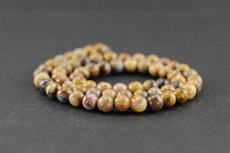 Perles en jaspe