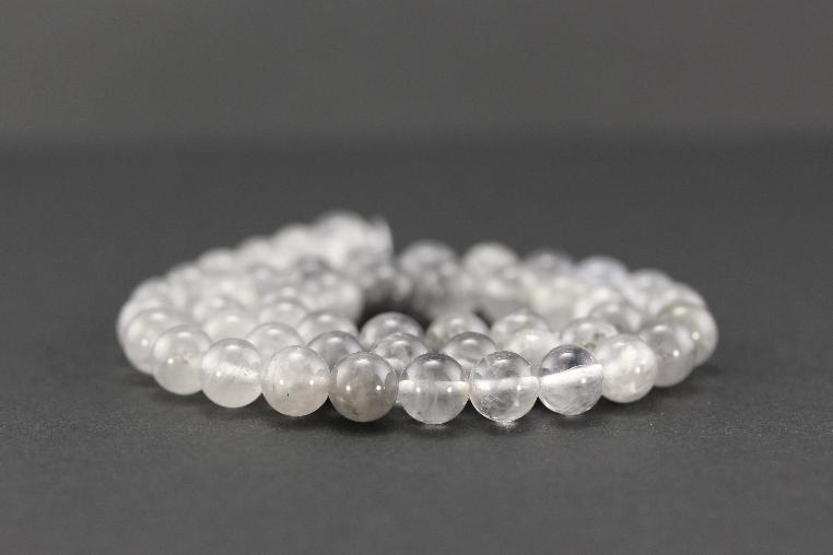 Perles en quartz nuage
