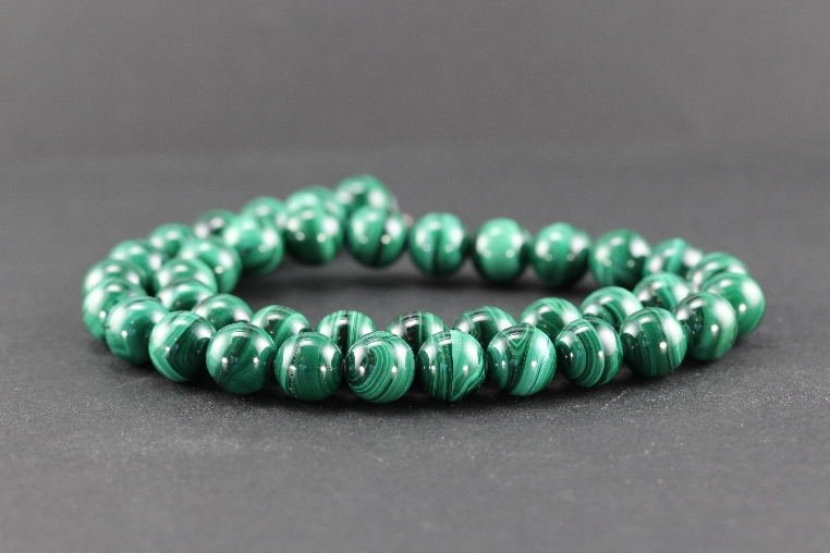 Grossiste perles en malachite