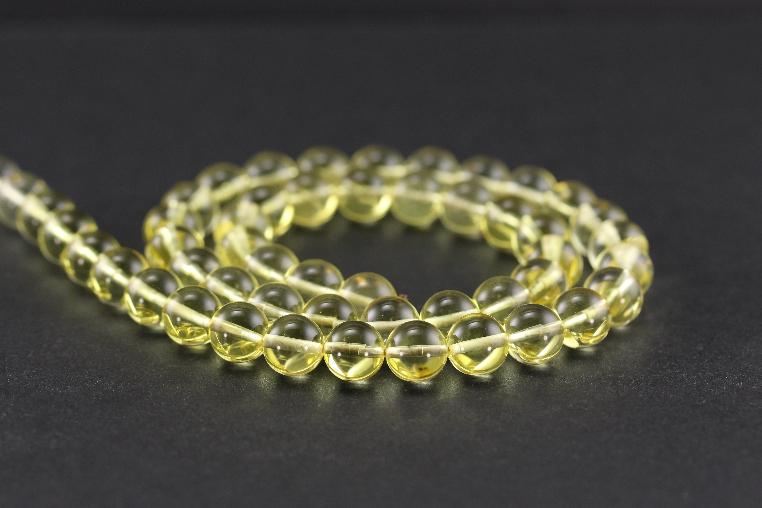 Perles en ambre